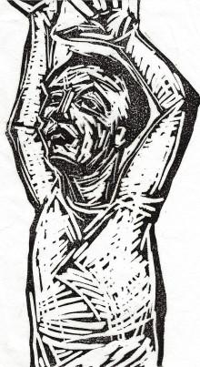 Figure Sketch: Stretch