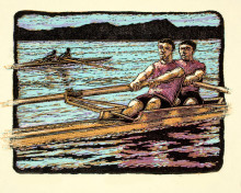 Pair Rowing