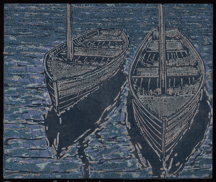 Dinghies-Reflected-(black-paper)