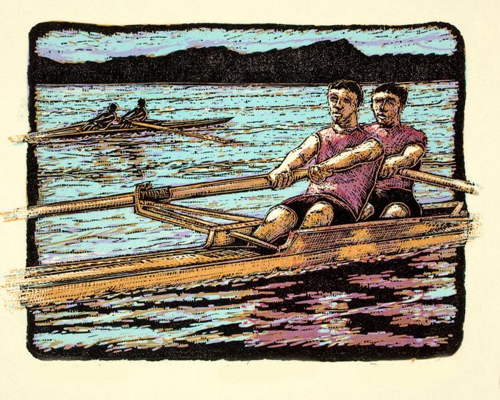 Pair-Rowing