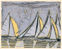 Sails, Seagulls, Sun #2