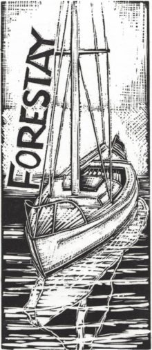 """F"" is for Forestay"