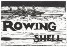 """R"" is for Rowing Shell"